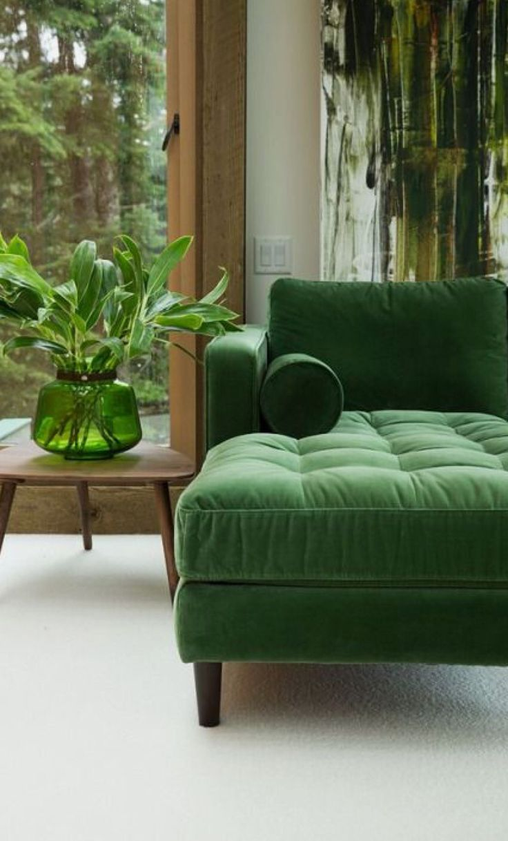 Kelly green velvet curtains - Find This Pin And More On Great Green Sofa