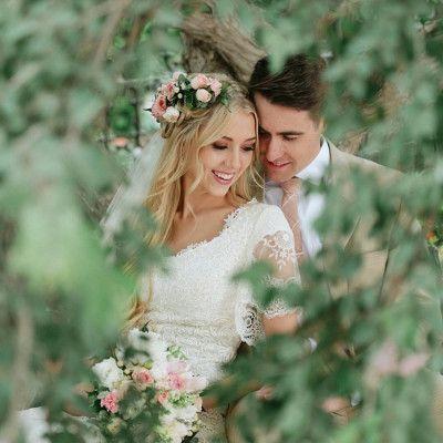 boho modest wedding dress from alta moda bridal