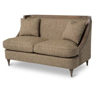 Shop for Dallas Wood Trim Loveseat by Michael Amini. Get free shipping at Overstock.com - Your Online Furniture Outlet Store! Get 5% in rewards with Club O!