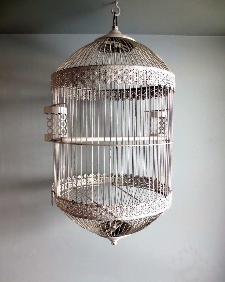 Antique Bird Cage via BRIANCEAU COUTURE. Click on the image to see more! #antique #Birdcage #rustic #chic
