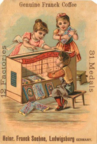 Heinrich Franck Soehne & Comp. :: Victorian Tradecards