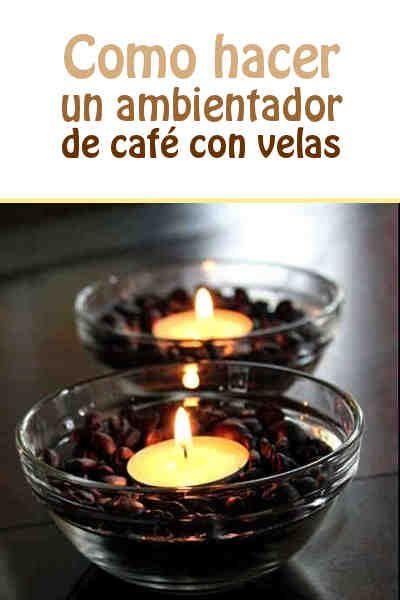 Como hacer un ambientador de café con velas #ambientador #DIY #hogar