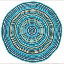 Awesome Wundersch ner runder H kelteppich Boy bunt von sebra Ein farbenfroher Mittelpunkt f r das Kinderzimmer stellt dieser liebevoll ver