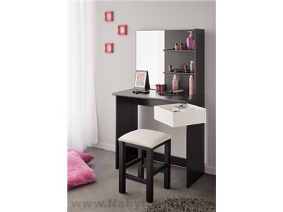 Toaletní stolek se židlí Pimpate-7330COIF-0118TABO