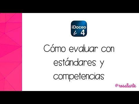 iDoceo 4.5 - Cómo evaluar con estándares y competencias - YouTube