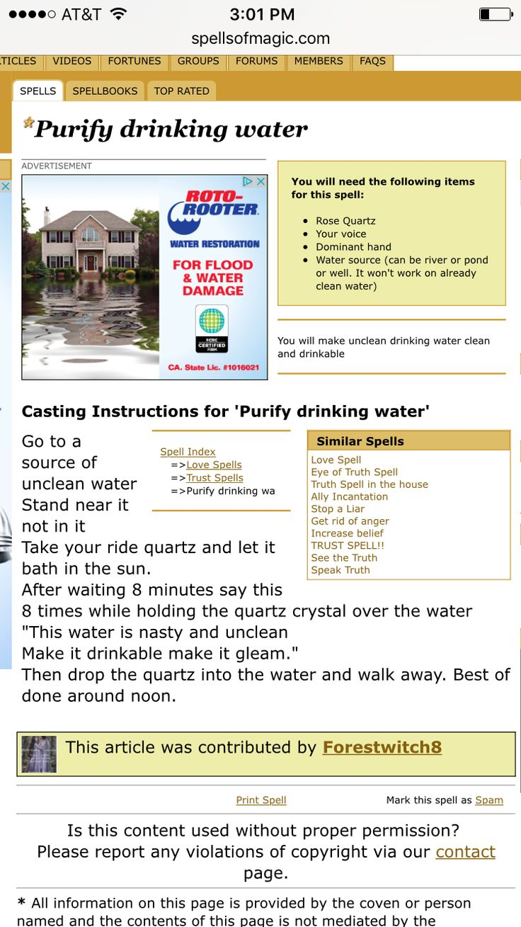How to purify drinking water Drinking water, Purifier