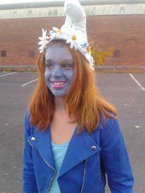 Saskia's knutsel blog: Smurf Costume