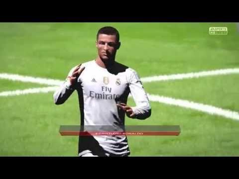 Cristiano Ronaldo vs Barcelona Amazing Free kick Goal | FIFA 16