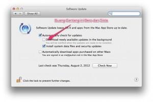 OS X: Mountain Lion: Cara Matikan Automatic Download Mac AppStore