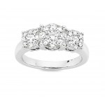 Bevilles 14ct White Gold Diamond Ring. No better way to say i love you than giving this ring!