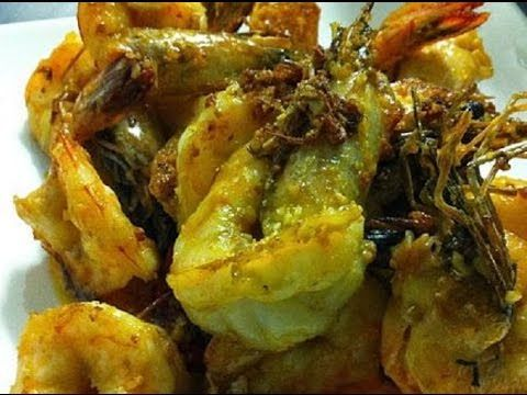 (Hangout-On-Air) How to Cook Salt and Garlic Prawns