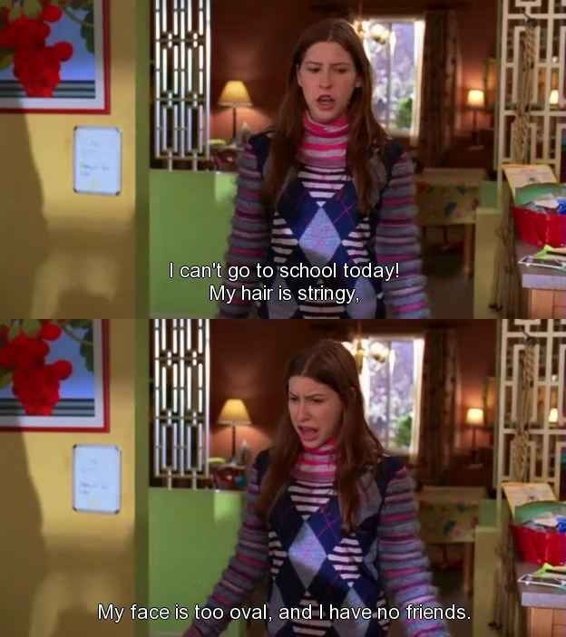 """Letting out all your feelings at once is ok. 