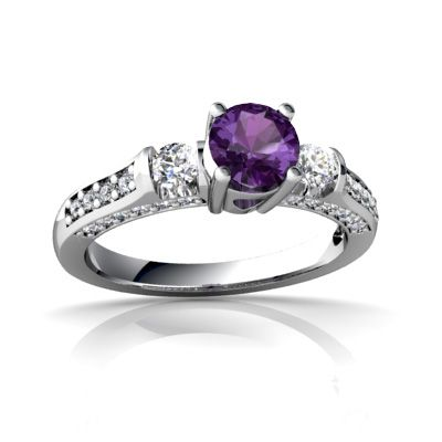78 best amethyst rings wedding time images on