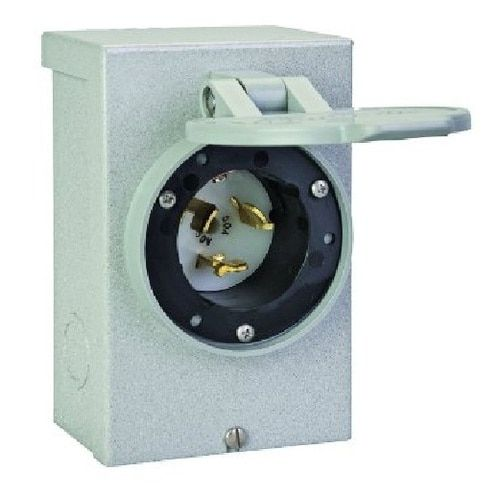 Reliance Controls - PB50REL - 50 Amp - Power Inlet Box - Receptacle