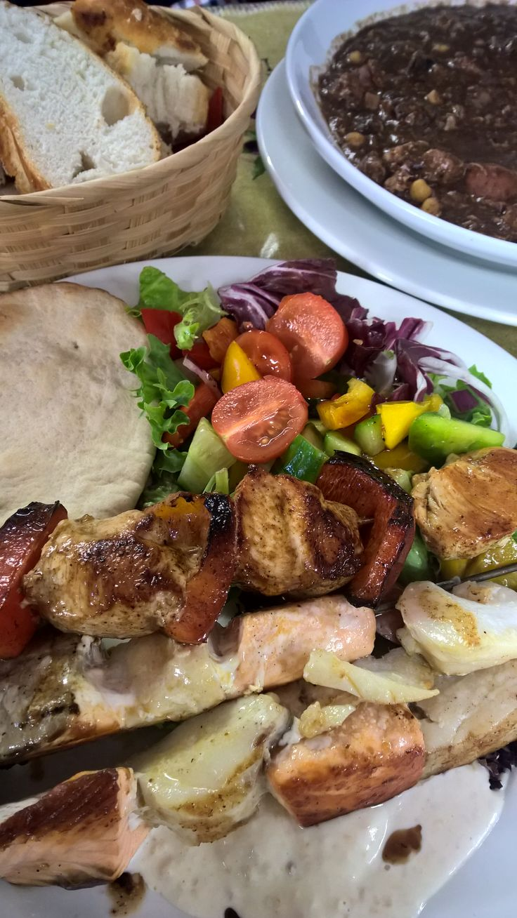 Mixed Grill. Cafe Med at The Market, Doncaster.
