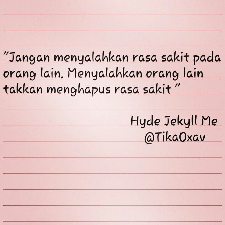 Quotes - hyde jekyll me