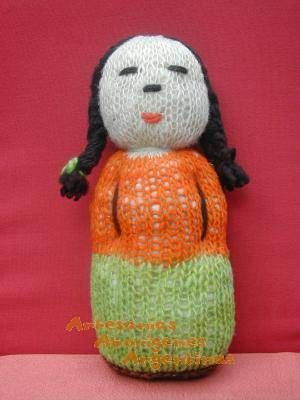 Muñeca mapuche