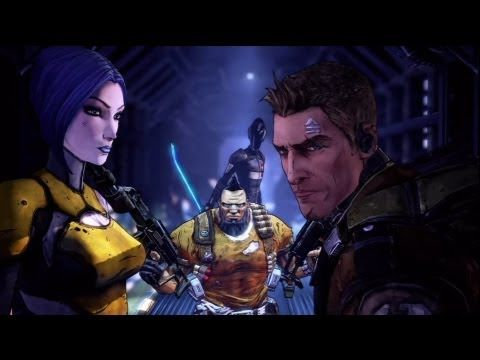This intro is covered in Awesome Sauce. ----> Borderlands 2 Intro  (Xbox 360)