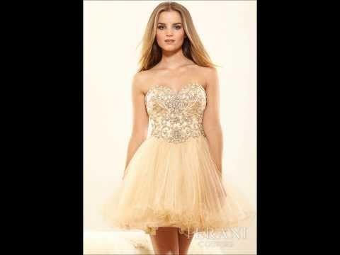 Vestidos Cortos Para XV Años 2014