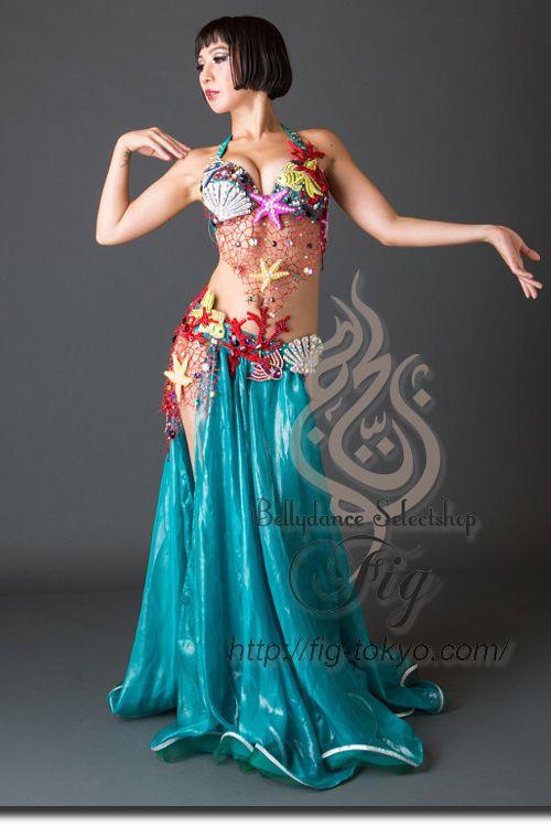 Design by Anastasiya / Model: TIDA / Fig Belly Dance # ...