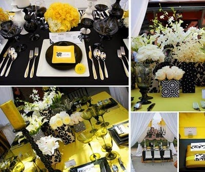 146 best yellow black wedding inspiration images on pinterest yellow and black wedding junglespirit Images