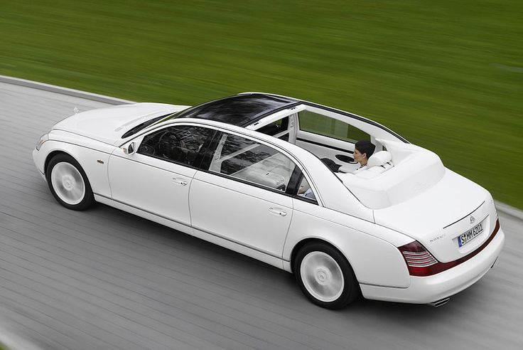 Mercedes Maybach Landaulet - 1.38 Million $ #DreamCars & #CarPorn: #Rvinyl's Favorite Way to Spend a Cold, Winter Day