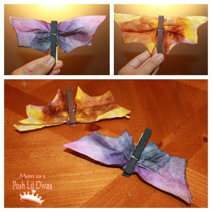 Sparks crafts - butterflies...