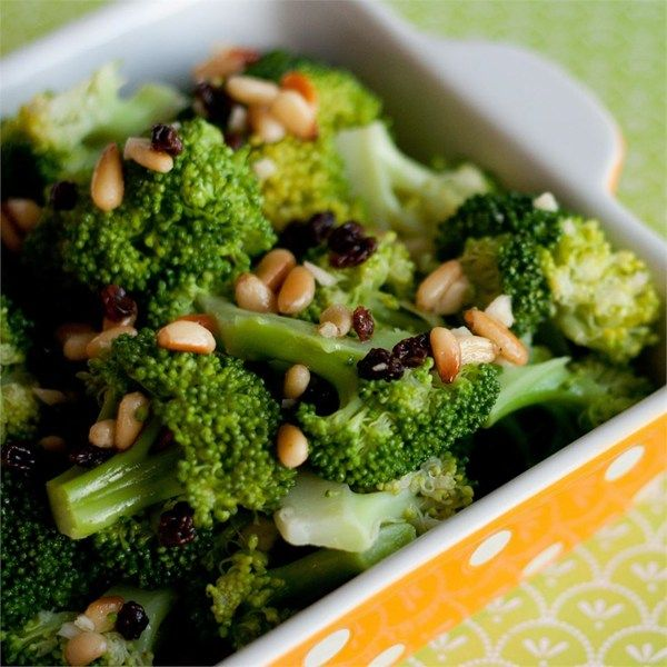 "Garlic Broccoli Salad | ""I like this recipe because it puts an ..."