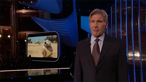 HARRISON FORD presenta la nuova STAR WARS EXPERIENCE la nuova area a tema STAR WARS inserita nei parchi Disney