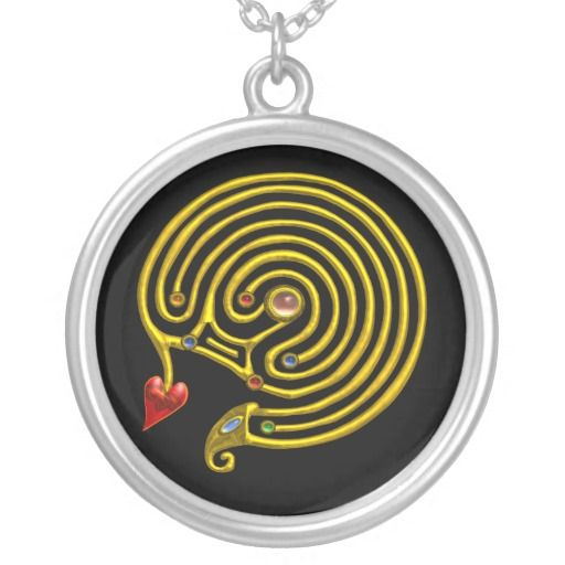 HYPER LABYRINTH Necklace ,Design by Bulgan Lumini