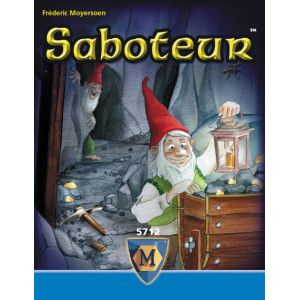 Saboteur Card Game. Like Carcassonne but for lots of people and with intreague