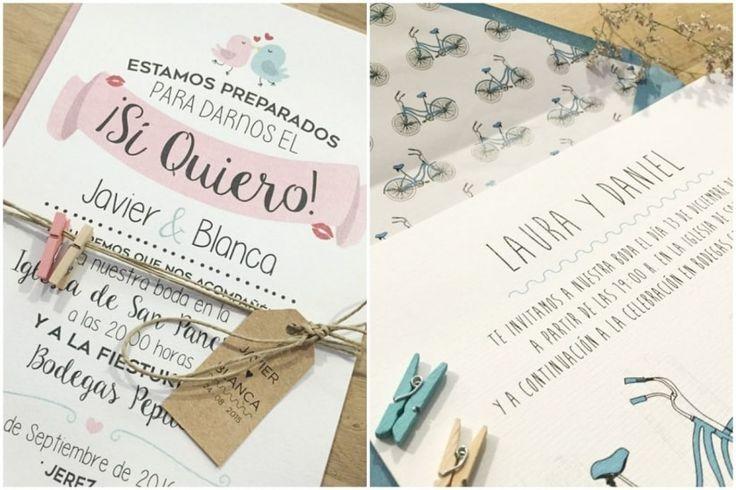 Por fin los novios le estáis dando a las invitaciones de vuestra boda la importancia que merecen, así que ya sabéis, si queréis acertar, seguid las tendencias en invitaciones de boda este 2016.