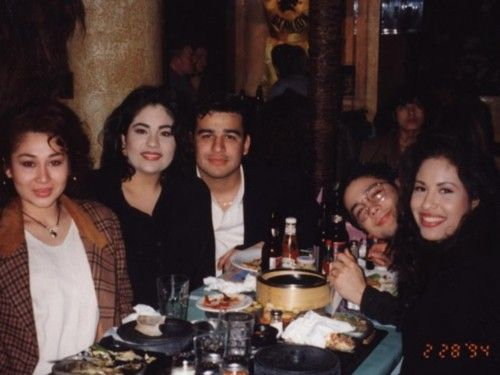 Selena, Chris and Suzette ♥ - Selena Quintanilla-Pérez
