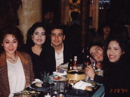 Selena, Chris and Suzette ♥ - Selena Quintanilla-Pérez