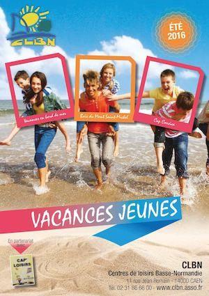 Vacances Jeunes éTé 2016
