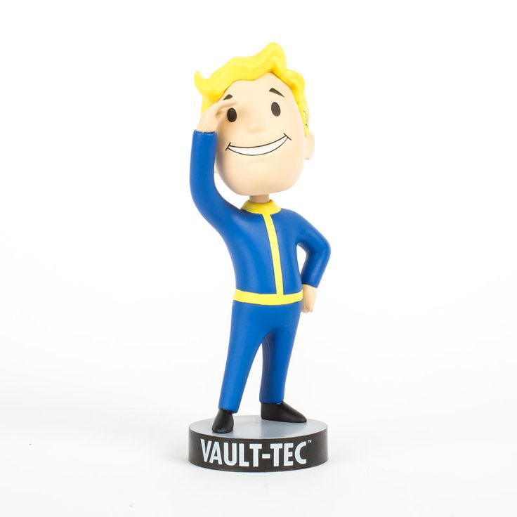 series 1 vault boy perception bobblehead sized approx