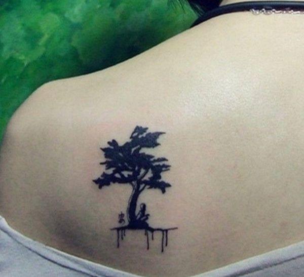 Small Tree Tattoo Designs