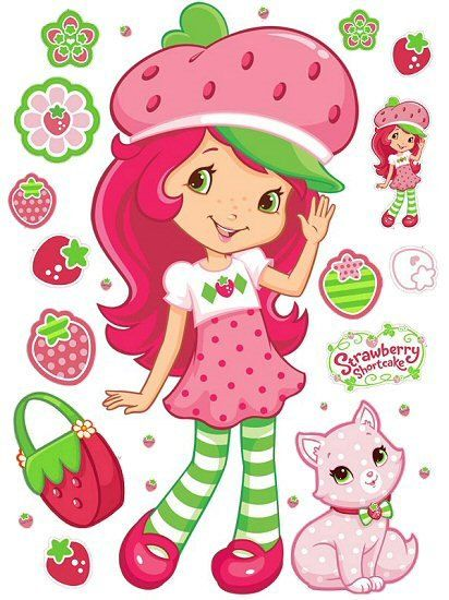 Great  Strawberry Shortcake  iron on transfer by printonit on Etsy, $2.99