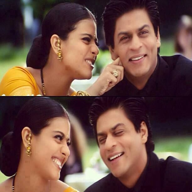 Shahrukh and Kajol - love this pair..