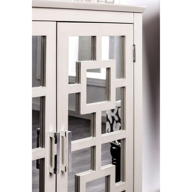 Furniture of America Coleen Contemporary 3-shelf Grey Hallway Cabinet   Overstock.com Shopping - The Best Deals on Coffee, Sofa & End Tables