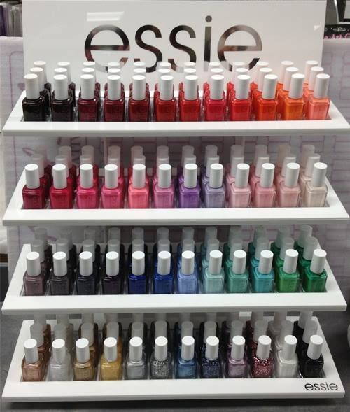Addicted to the essie color wheel.
