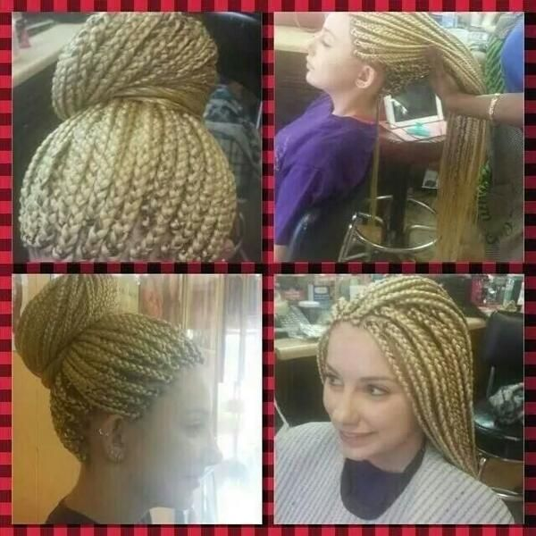 Image result for white girl with black braids