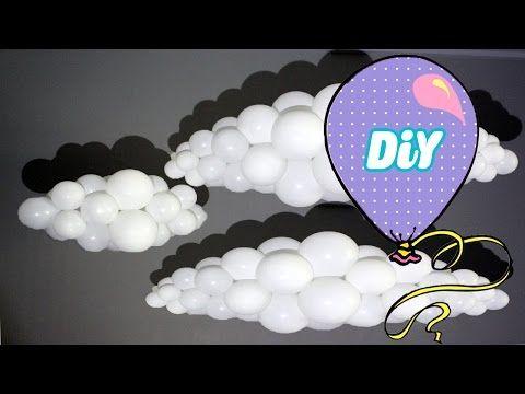 Como fazer Nuvem de Balões - YouTube