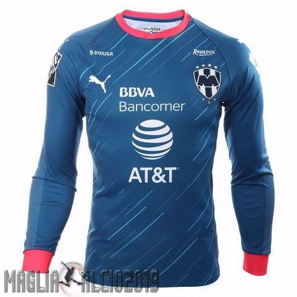 Completi Calcio In Offerta PUMA Away Manica Lunga Monterrey 18-19 ...