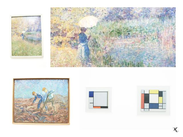 Knihařka - Stedelijk museum - paintings, impressionism