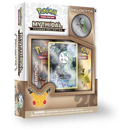 Pokémon TCG: Mythical Pokémon Collection - Meloetta