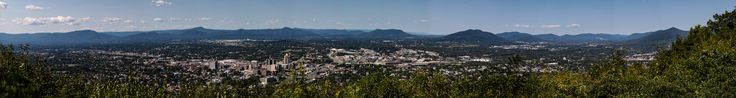 https://flic.kr/p/LLfuSY | Downtown Roanoke | Skyline of Roanoke Virginia