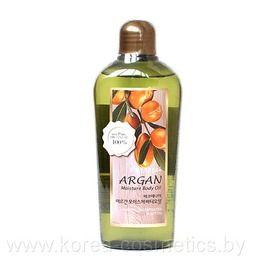 Увлажняющее аргановое масло для тела WELCOS ECOennea ARGAN Moisture Body Oil 200мл.