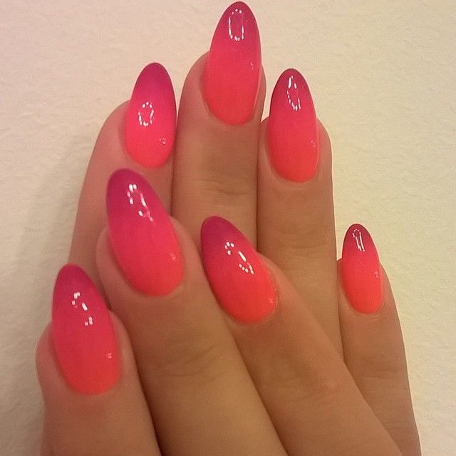 Instagram media by nailspapoland - Ombre nails