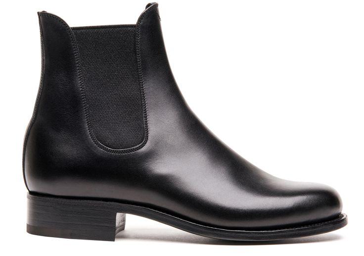 Weston - Chaussure Femme Cuir - Bottine Noire 705